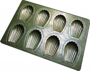 Chiyoda Metal Concept size (1/4)  Madeleine Baking Mold Tray 8P Baking Tray New