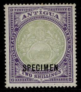 ANTIGUA EDVII SG38s, 2s grey-green & pale violet, UNUSED. SPECIMEN