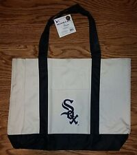 "MLB Chicago White Sox Baseball Reusable ""ECO Green"" Tote Bag With Front Pocket"