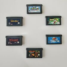 "VINTAGE"" Lot of 6 Nintendo Game Boy Advance Games"
