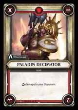 Warhammer Age of Sigmar Champions Foil Paladin Decimator