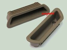 BROWN DOOR PANEL CUP HANDLE TRIM INNER INTERIOR FOR ISUZU TFR PICKUP 1989-1995