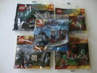 LEGO LOTR The Lord of the Rings Hobbit 30210 30211 30212 30213 & 30216 Polybag