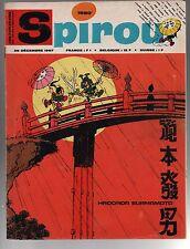 SPIROU n°1550 du 28 décembre 1967. Bien complet. Bel état