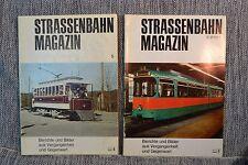 Strassenbahnmagazin Strassenbahn magazin Trolly Train Interurban six issue 1970s