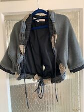 COCOMENTHE OPEN CARDIGAN/ SHRUG SIZE 4 UK 14 IN LOVELY CONDITION