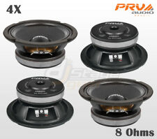 "Four PRV Audio 6MB200 8 Ohms 6"" Mid Bass 4x Woofer - PRV 6.5 in Midbass Speaker"