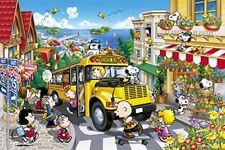 Epoch Peanuts Snoopy Jigsaw Puzzle 1000 Pieces Happy School Bus 50x75cm