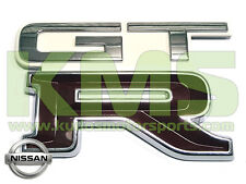 "Boot Lid Badge ""GTR"" to Suit Nissan Skyline R32 GTR (#326 / Crystal White)"
