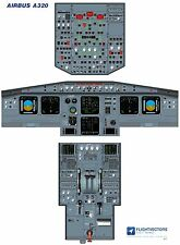 Cockpit - Flight Deck Training Posters 25%-100% - Airbus A320 EIS1 - from £29.95