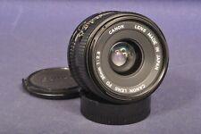 Canon 2,8 x 35 mm FD Weitwinkel Objektiv / Wide Screen Lens