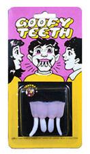 Dentier horrible et rigolo Goofy Teeth j20 3000645 farces et attrapes amusement