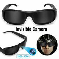 Mini HD Camera Glasses 1080P Spy Eyeglass Eyewear Outdoor DVR Camcorder Recorder