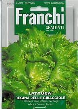 Franchi Seeds Lettuce Lattuga Regina dei Ghiacci seed