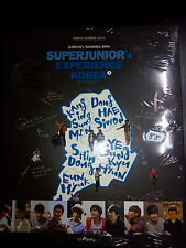 Super Junior's Experience Korea Vol. 1 and 2 First Press Limited Photobook New