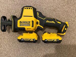 DeWalt DCS312D2 12V XR Cordless Reciprocating Saw & 2x 3Ah Batteries