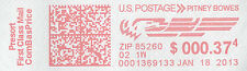 (600)  Postage Meter Tape labels for use with Pitney Bowes 612-0, 620-9, 612-7