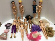 Spin Master Liv Dolls Lot Wigs Clothes