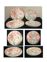 Better Homes & Gardens Indoor / Outdoor Dinnerware  ANNABEL FLORAL Set of 8