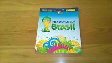 2014 Copa del Mundo de Brasil PANINI STICKER Album 50% Lleno