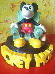 Mickey Mouse Figurine 9 3/8in Large Walt Disney