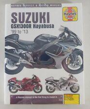 Reparaturanleitung Suzuki GSX 1300 R Hayabusa, Baujahr 1999 - 2013