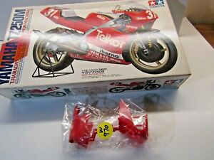 Tamiya 1:12 Scale Yamaha TZ250M '93 Sprue 'D' Red Fairing Parts Only