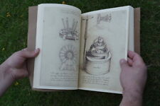 Codex Madrid, Leonardo Da Vinci, 1490 Fine leather Facsimile