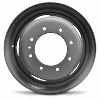 New 19.5x6 Steel Wheel Rim For 1999-2003 Ford F550SD F450SD 8 Lug 225mm