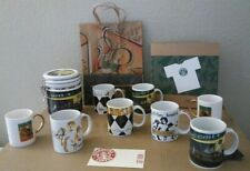 NEW!!! LOT OF VINTAGE STARBUCKS COFFEE MUGS, COFFEE CANNISTER, SHIRT++12 PIECES