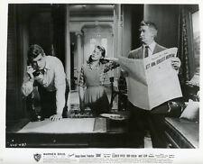ROCK HUDSON CARROLL BAKER GIANT 1956 VINTAGE PHOTO ORIGINAL #14