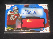 AUSTIN JENKINS ROOKIE CERTIFIED AUTOGRAPHED SIGNED FOOTBALL JERSEY CARD /99