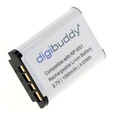 Digibuddy Accu Batterij Sony HDR-CX405 -1090mAh Akku Battery NP-BX1
