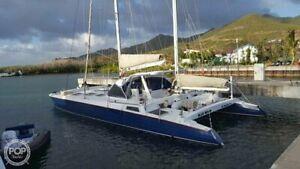 Segelyacht Katamaran