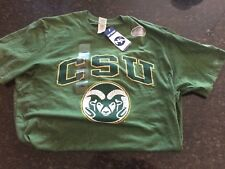 NEW with tags Colorado State Rams Green Mens L Shirt Tshirt NCAA Fort Collins