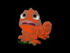 Orange UPSET & NERVOUS PASCAL the Chameleon from TANGLED Disney 2014 Pin