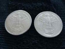 2 Letcher Mint U.S.A. 1973 Eagle 1 oz. Silver Rounds .999 Fine Silver