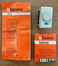 BTICINO 13961 TEKNE VARIALUCE REGOLATORE DI LUMINOSITA' TENSIONE DIMMER 500 WATT