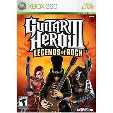 Xbox 360 Guitar Hero 3 Legends of Rock Game + FREE S&H