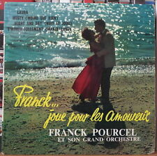 """FRANCK POURCEL ET SON GRAND ORCHESTRE LAURA LOVERS COVER  45t 7"""" FRENCH EP"""