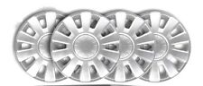 "A SET OF 16"" FORD TRANSIT MK6 MK7  SILVER WHEEL TRIM  2000-14 (4 pieces)"