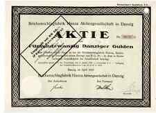 Briefumschlagfabrik Hansa AG Danzig Gdansk Polen 1925