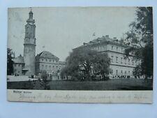 Germany - Weimar Schloss - Postmarked WEIMAR 1908