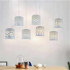 Metal Floral Table Ceiling Pendant Light Shade Lampshade Lamp Cover White New