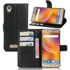 Book Flip Magnetic Card Wallet PU Leather Case Stand Cover For ZTE Blade A452