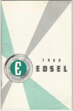 1960 Edsel Owner's Care & Maintenance Manual - Classic Ford Automobile