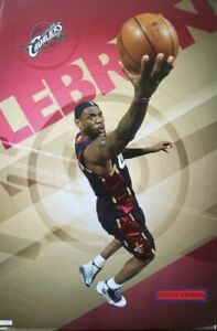 Cleveland Cavaliers Lebron James 2009 22.5 x 34 Poster
