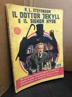 I GIALLI MONDADORI n 15 IL DOTTOR JEKYLL E IL SIGNOR HYDE R.L. STEVENSON 2° EDIZ