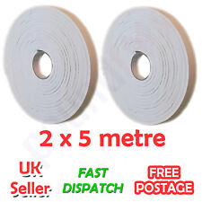 FOAM WEATHER STRIP DRAUGHT STOP, SELF ADHESIVE DOOR WINDOW SEAL TAPE INSULATION