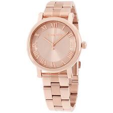 Michael Kors Norie Rose Gold Dial Stainless Steel Ladies Watch MK3561